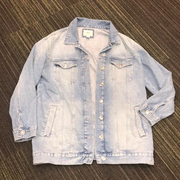 Forever 21 Jackets & Blazers - Forever 21 Oversized Jean Jacket Size Medium